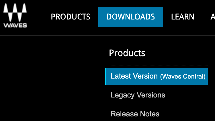 Waves - Downloads Waves Central