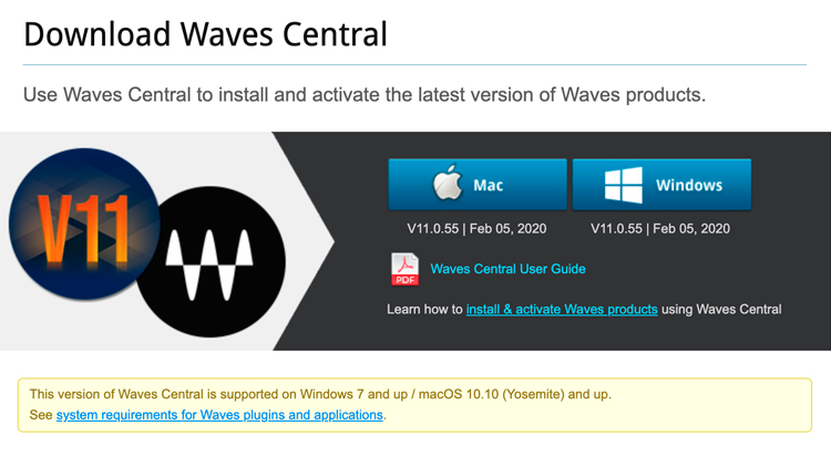 Waves - Downloads by OS